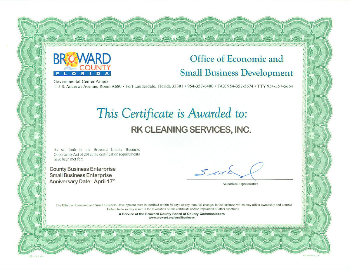 Commercial Cleaning Services Fort Lauderdale Broward County